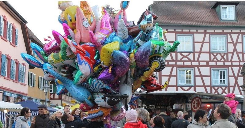Martinimarkt, Ettenheim, Innenstadt, Luftballons, © Veranstalter