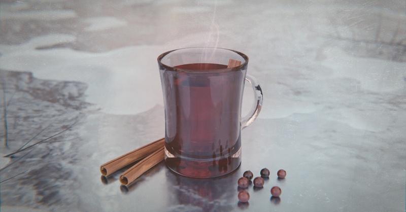 Glühwein, Winter, heißer Tee, Eis, © Pixabay (Symbolbild)