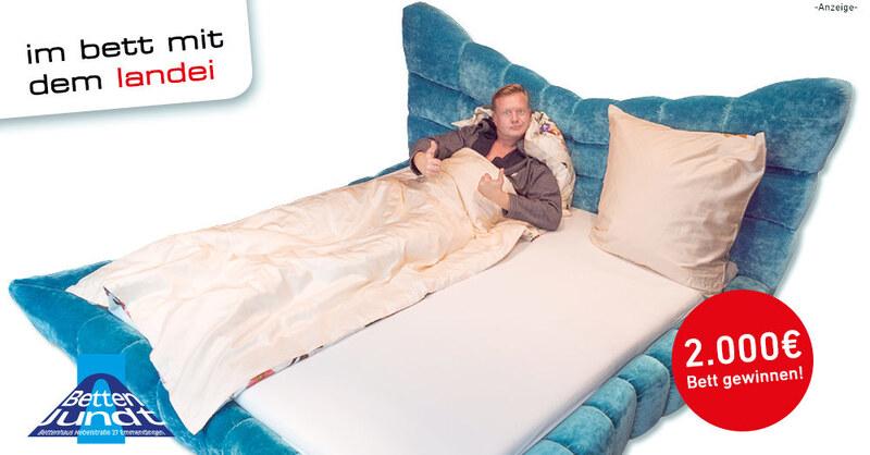 baden.fm Bettenwette - Jetzt ein Bett im Wert von 2000€ gewinnen