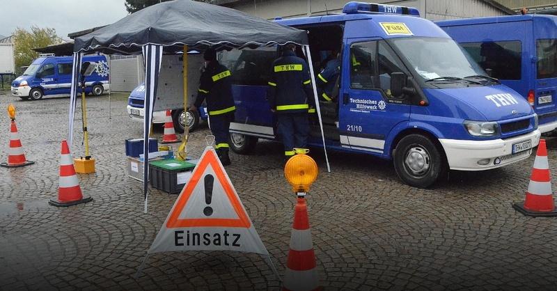 Technisches Hilfswerk, THW, Übung, Offenburg, © THW
