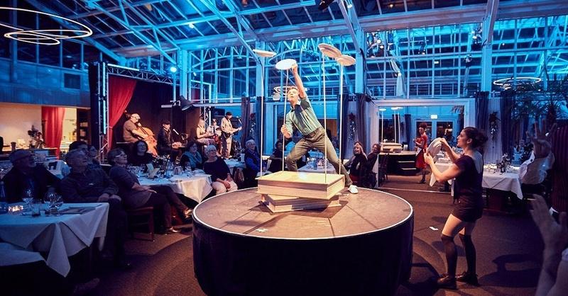 Bohrerhof, Dinner, Show, Akrobatik, Musik, Hartheim-Feldkirch, © Felix Groteloh