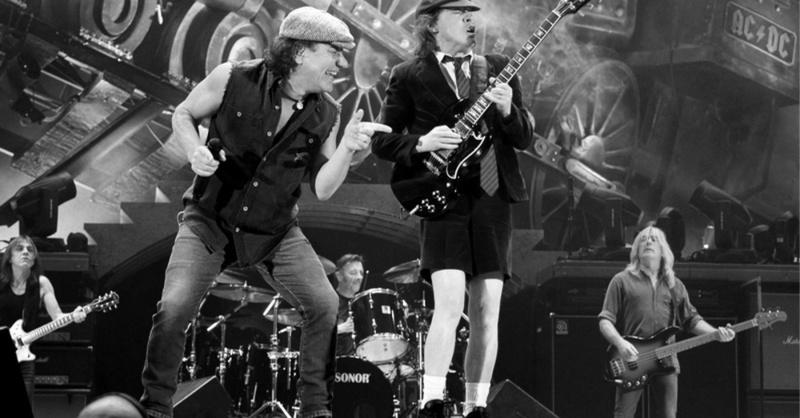 AC/DC, Rock, Band, Angus Young, © Scanpix Johannessen - Scanpix Norway / dpa