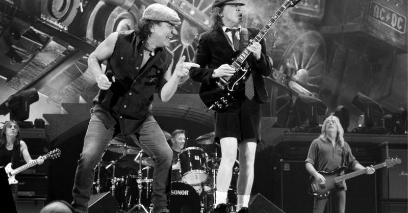 AC/DC, Rock, Band, Angus Young, © Scanpix Johannessen - Scanpix Norway / dpa