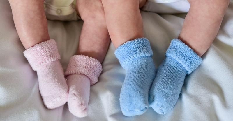 Baby, Geschlechter, Geburt, © Patrick Pleul - dpa (Symbolbild)