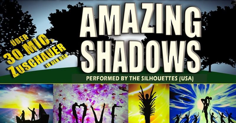 Amazing Shadows, Schattenspiele, The Silhouettes, Oberrheinhalle Offenburg, © Veranstalter