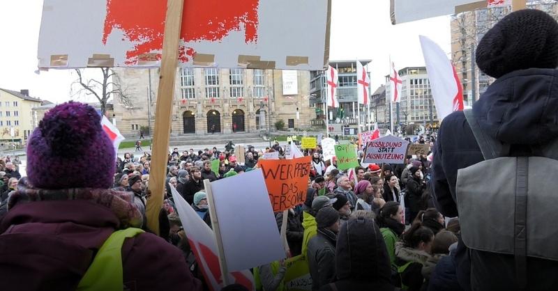 Warnstreik, ver.di, Uniklinik, Freiburg, Protest, © baden.fm