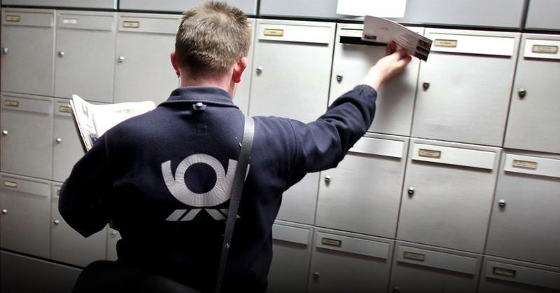 Deutsche Post, Briefträger, © Oliver Berg - dpa (Symbolbild)