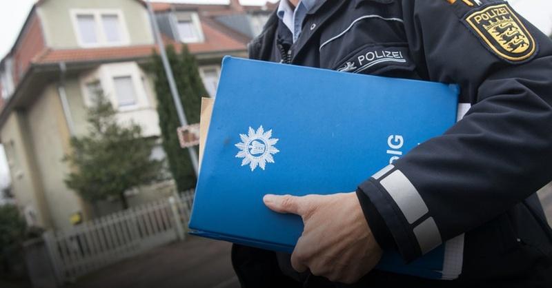 Terrorverdacht, Karlsruhe, Freiburger, Polizei, © Marijan Murat - dpa