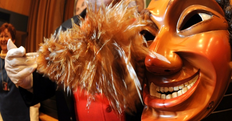 Fasnet, Maske, Narren, © Patrick Seeger - dpa