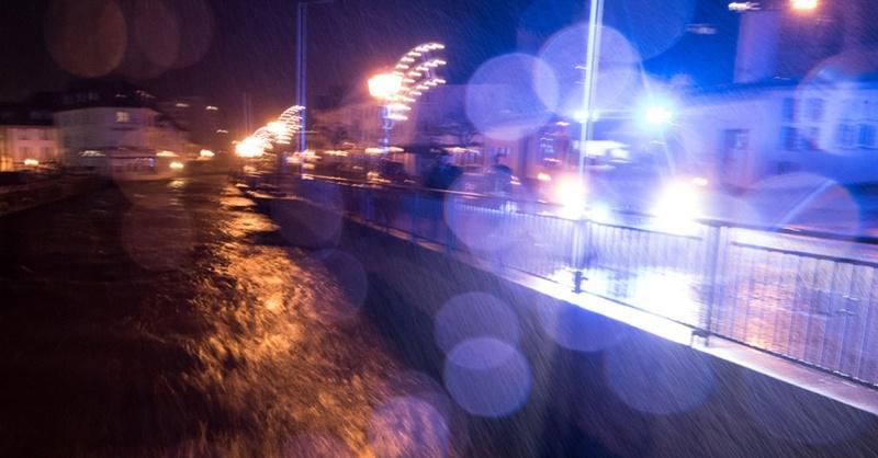 St. Blasien, Hochwasser, Unwetter, © Patrick Seeger - dpa