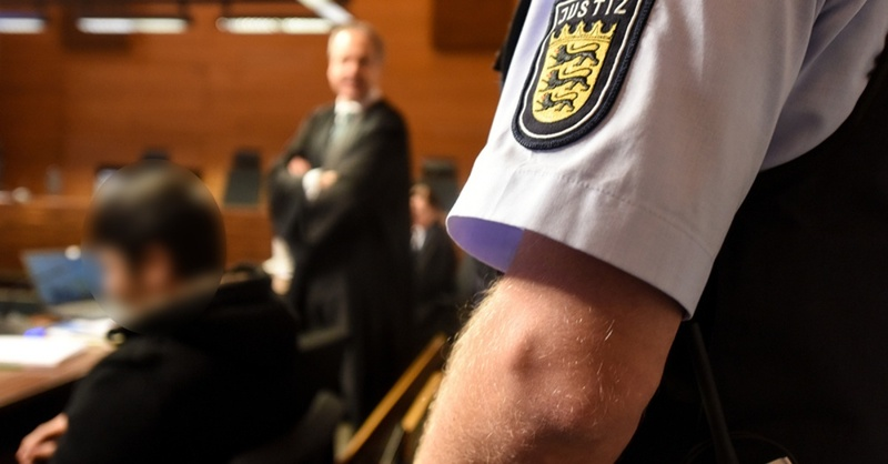 Dreisam, Mord, Angeklagter, Hussein K., Landgericht, Freiburg, © Patrick Seeger - dpa
