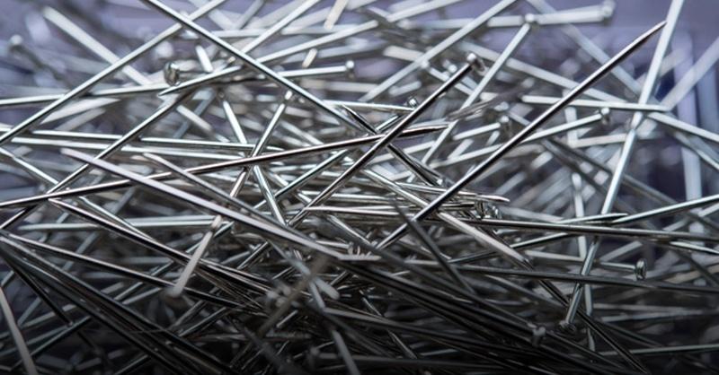 Nadeln, Nägel, Nagel, Nadel, © Sebastian Gollnow - dpa (Symbolbild)