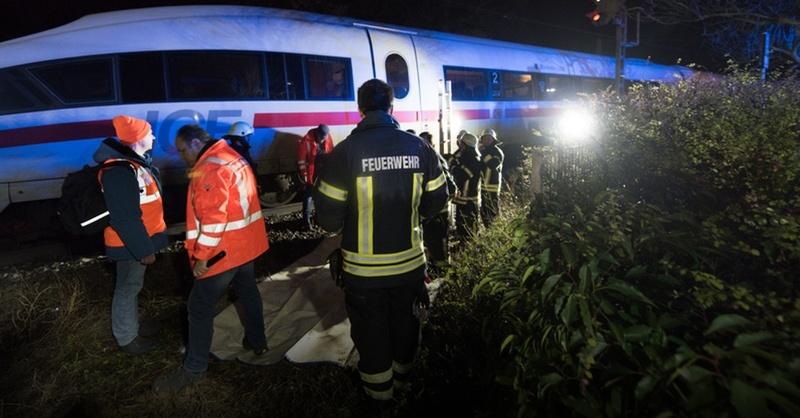 ICE, Schallstadt, Rheintalbahn, © Patrick Seeger - dpa