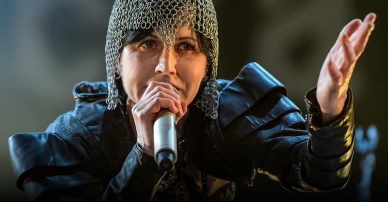 Dolores O'Riordan, The Cranberries, Sängerin, © Wojciech Pacewicz - PAP / EPA / dpa