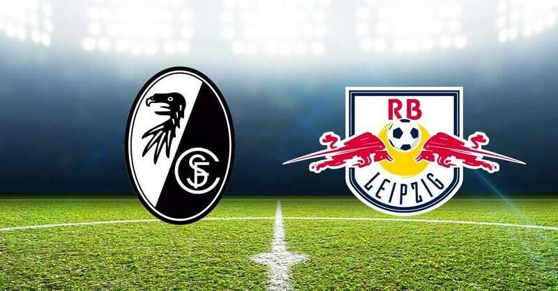 SC Freiburg gegen RB Leipzig Fußball Bundesliga