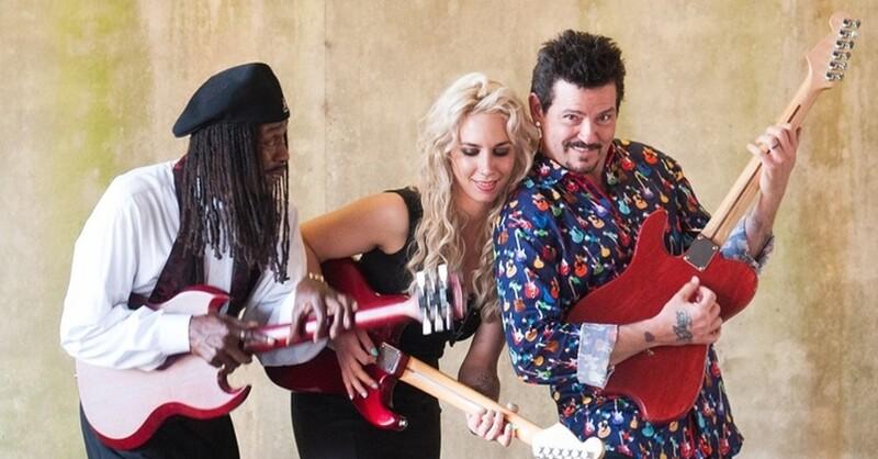 Blues Caravan, Bernard Allison, Mike Zito, Vanja Sky,, © Veranstalter