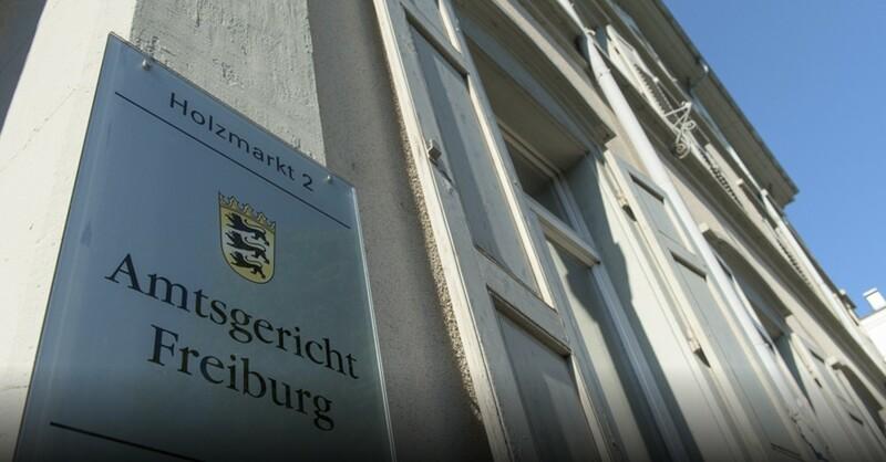 Amtsgericht, Freiburg, © Patrick Seeger - dpa