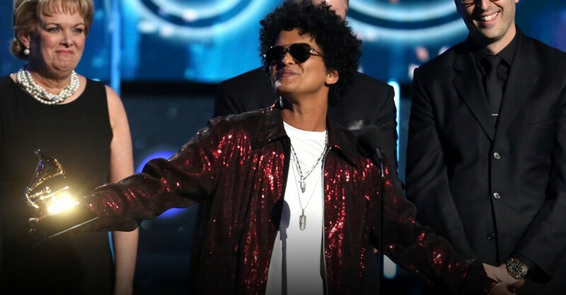 Bruno Mars, Grammies, Grammy Awards, © Matt Sayles - Invasion / ap / dpa