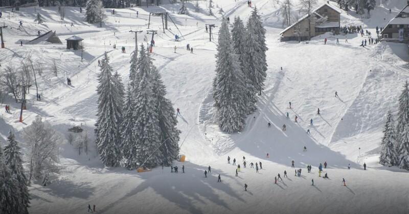 Wintersport, Grafenmatt, Skipiste, Feldberg, © Patrick Seeger - dpa (Symbolbild)