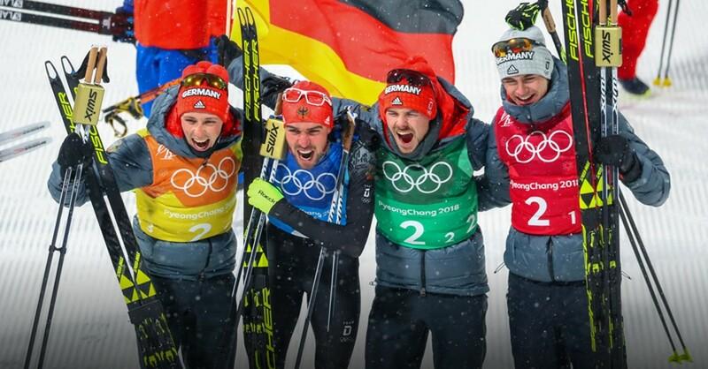 Olympische Spiele, Nordische Kombinierer, Fabian Rießle, © Daniel Karmann - dpa