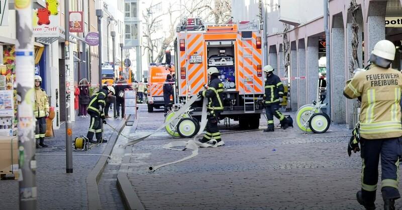 Feuerwehr, Freiburg, Brand, © baden.fm