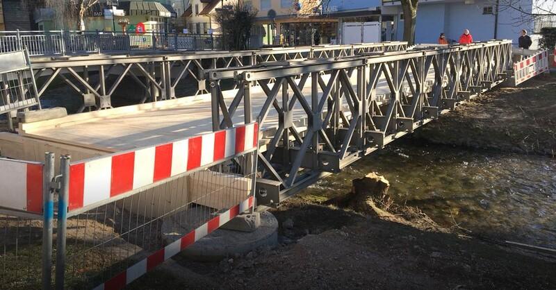Behelfsbrücke, Brücke, Bad Krozingen, © baden.fm