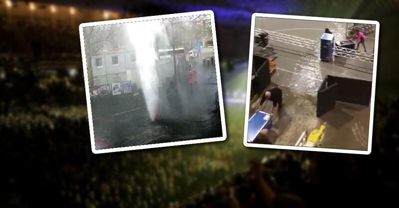Basel, St. Jakobshalle, Überflutung, © Erziehungsdepartement Kanton Basel-Stadt