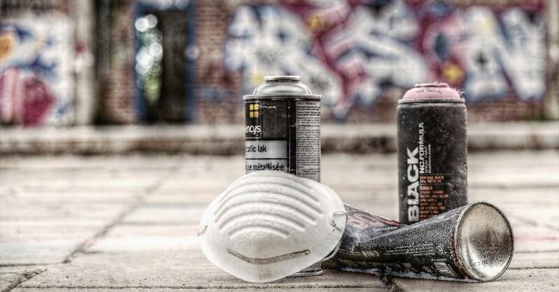 Grafitti, Grafitty, Spraydosen, © Pixabay (Symbolbild)