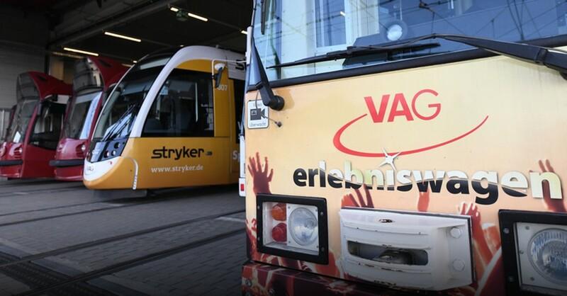 VAG, Freiburger Verkehrs AG, © Patrick Seeger - dpa