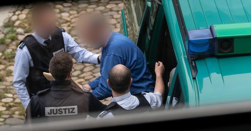 Missbrauch, Staufen, Angeklagter, Landgericht, Freiburg, © Patrick Seeger - dpa