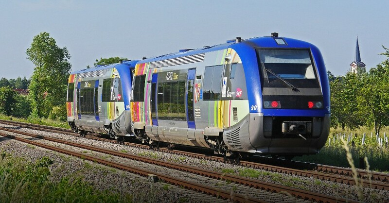 SNCF, Bahn, Zug, Lok, © Pixabay (Symbolbild)