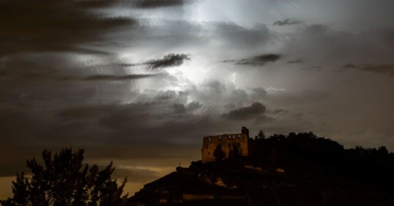 Gewitter, Unwetter, Blitze, © Philipp von Ditfurth - dpa (Symbolbild)
