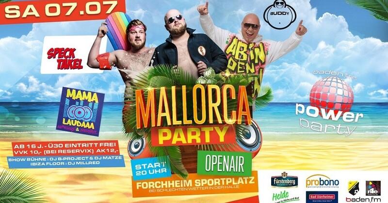 baden.fm Power Party, Forchheim , © Veranstalter