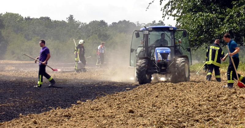 Flächenbrand, Ehrenstetten, Feuerwehr, © baden.fm