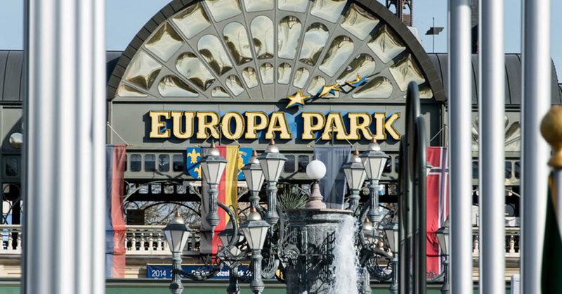 Europa-Park, Rust, Haupteingang, © Patrick Seeger - dpa (Symbolbild)
