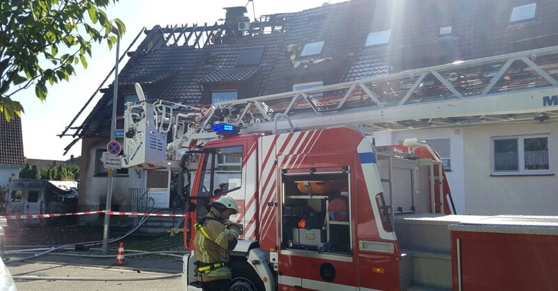 Feuerwehr, Brand, Waltershofen, Freiburg, © baden.fm