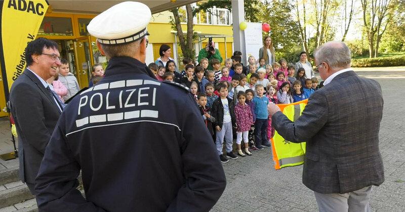 ADAC, Warnweste, Umkirch, Verkehrspolizei, © baden.fm