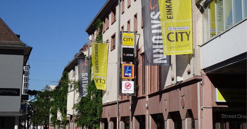 Schwarzwald City, Einkaufszentrum, Freiburg, © Einkaufszentrum Schwarzwald City Mieterverband e. V.