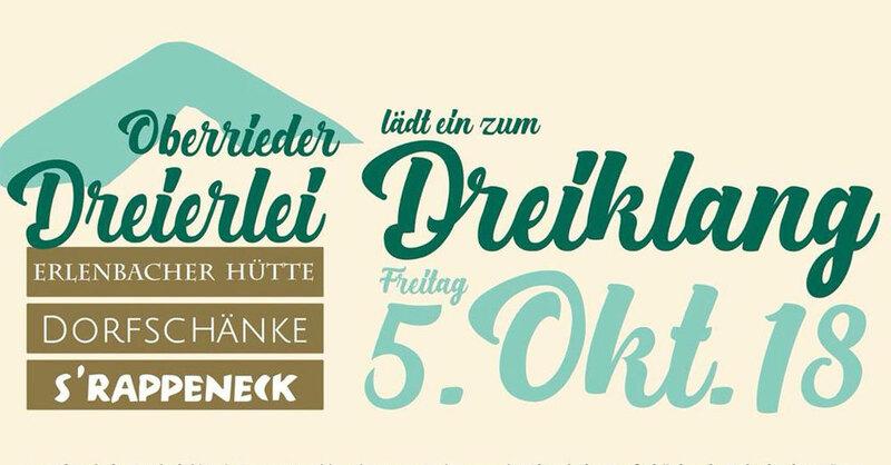 Oberrieder Dreierlei, © Oberrieder Dreierlei