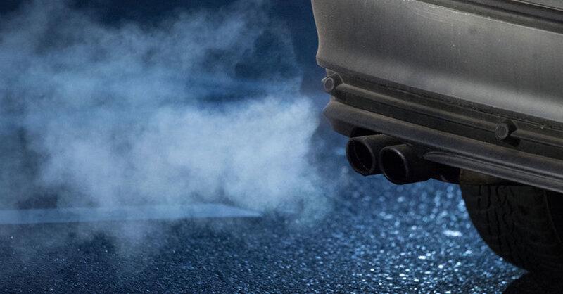 Abgas, CO2, Schadstoffe, Fahrverbote, © Marijan Murat - dpa (Symbolbild)