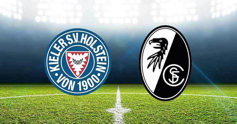 Holstein Kiel gegen den SC Freiburg im DFB Pokal