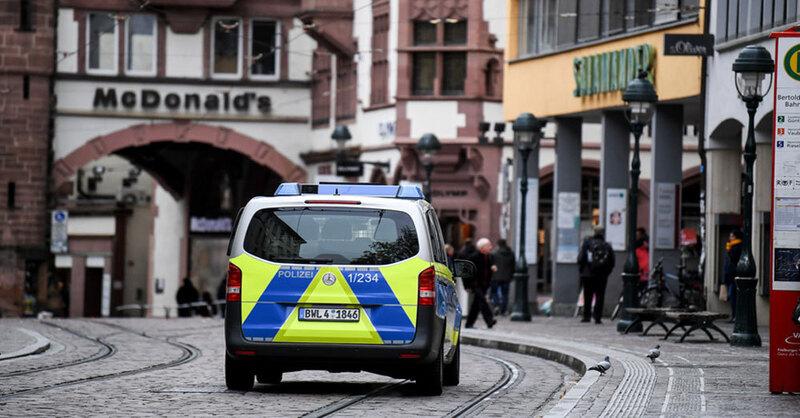 Polizei, Freiburg, Gruppenvergewaltigung, Sicherheit, © Patrick Seeger - dpa