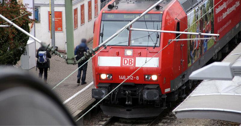 Deutsche Bahn, Hauptbahnhof, Zug, Regionalexpress, © baden.fm (Symbolbild)