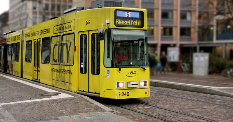 Straßenbahn, Freiburg, Linie 5, Rieselfeld, © baden.fm (Symbolbild)