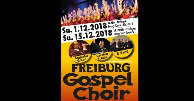 Jahreskonzert des Freiburg Gospel Choir