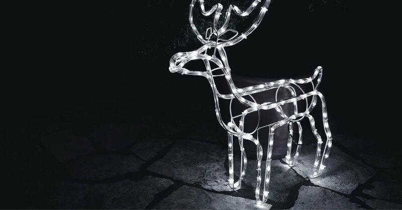 Reh, Rentier, Weihnachten, © Pixabay (Symbolbild)