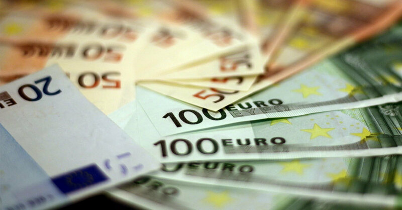 Geld, Geldscheine, Bargeld, Euro, © Pixabay (Symbolbild)