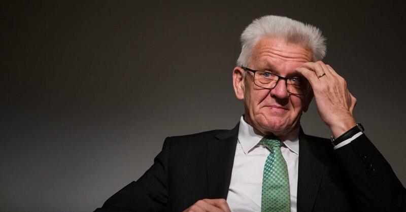 Winfried Kretschmann, Baden-Württemberg, Ministerpräsident, © Christoph Schmidt - dpa