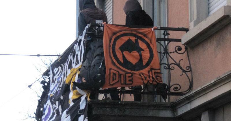 """Hausbesetzung, Besetzung, Schwarzwaldstraße, Freiburg, © Die WG Freiburg - """"Wohnraum gestalten"""""""