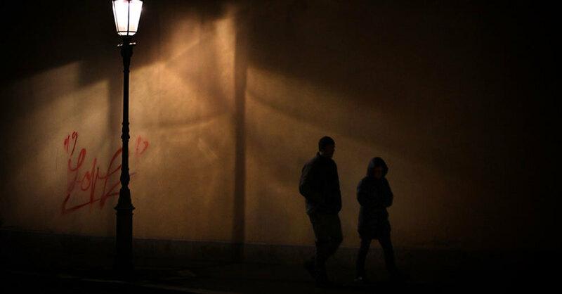 Dunkelheit, Nacht, Sicherheit, © Karl-Josef Hildenbrand - dpa (Symbolbild)